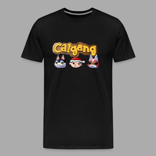 Animal Crossing CatGang - Männer Premium T-Shirt