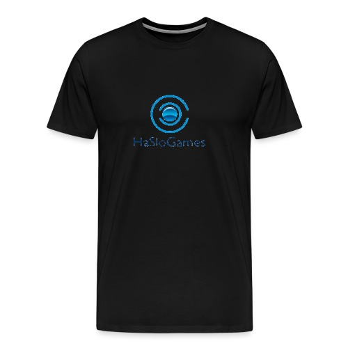 HasloGames Producten officieel logo - Mannen Premium T-shirt
