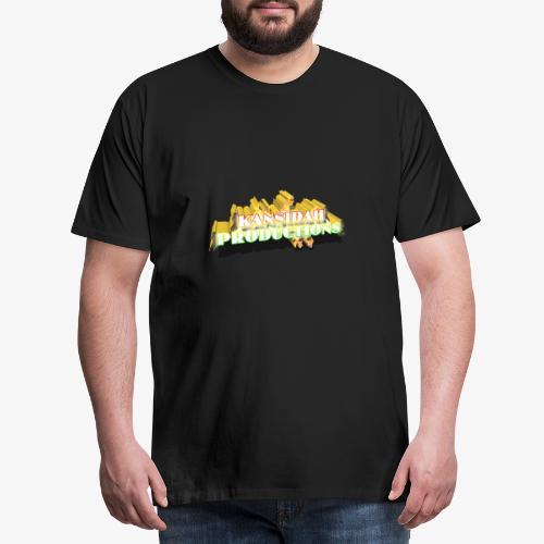 Kansidah Productions 3D Logo / Emblem - Männer Premium T-Shirt
