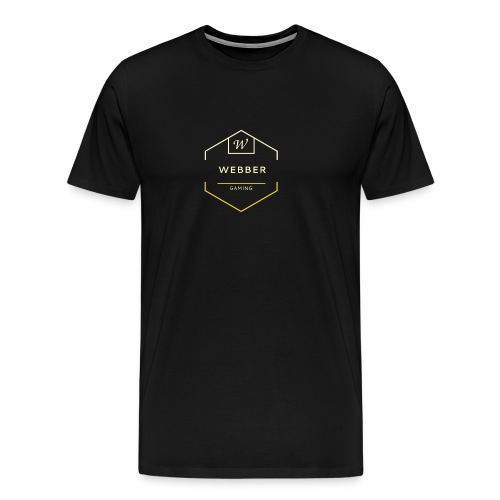 Webber Gaming - Maglietta Premium da uomo