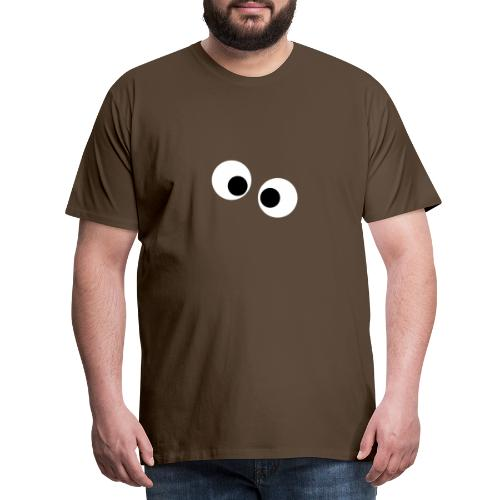 silly eyes - Mannen Premium T-shirt