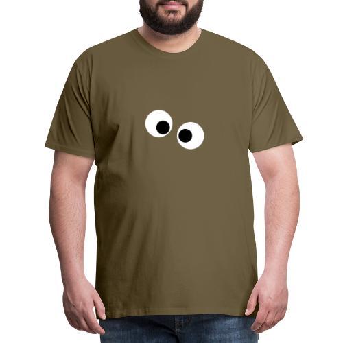 silly eyes - Mannen Premium T-shirt