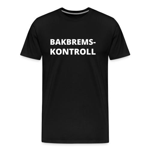 Bakbremskontroll png - Premium T-skjorte for menn