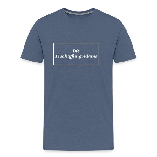Die Erschaffung Adams - Männer Premium T-Shirt