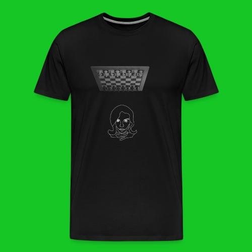 Chess in my head - Mannen Premium T-shirt