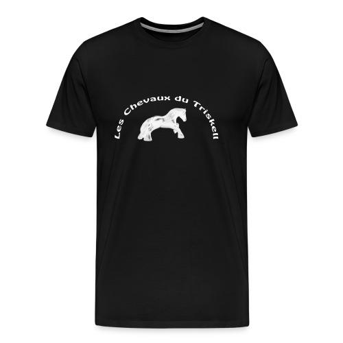 Logo LCDT Blanc - T-shirt Premium Homme