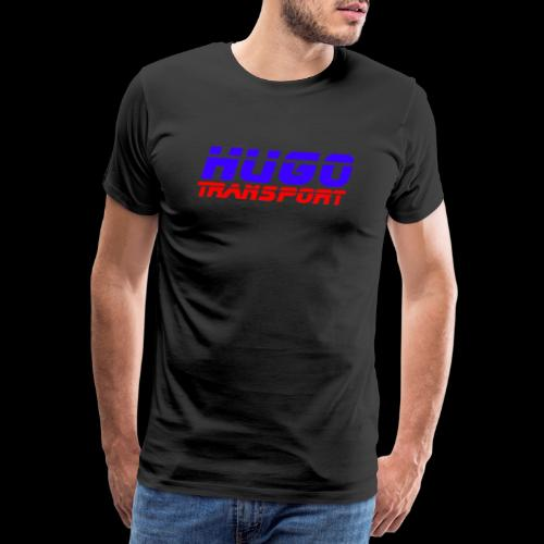hugotransportfullrestransparent - Mannen Premium T-shirt