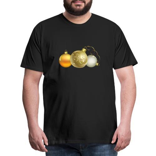 Christmas Ball Decor - Camiseta premium hombre