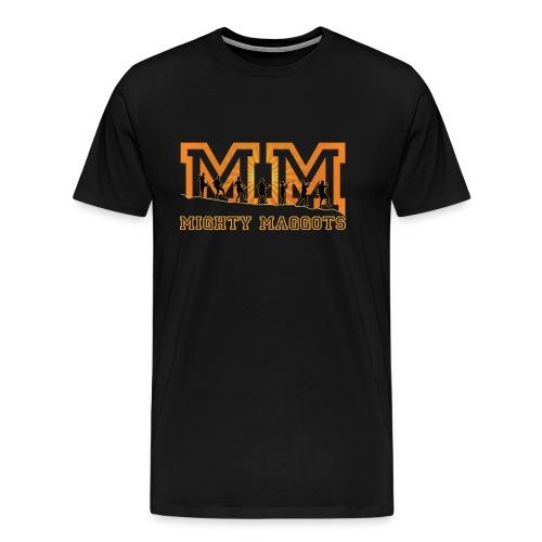 Retro Tasche Mighty Maggots - Männer Premium T-Shirt