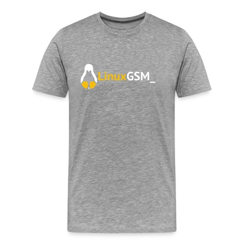LinuxGSM - Men's Premium T-Shirt