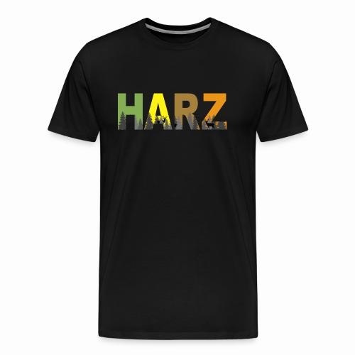 Harz in Farbe - Männer Premium T-Shirt