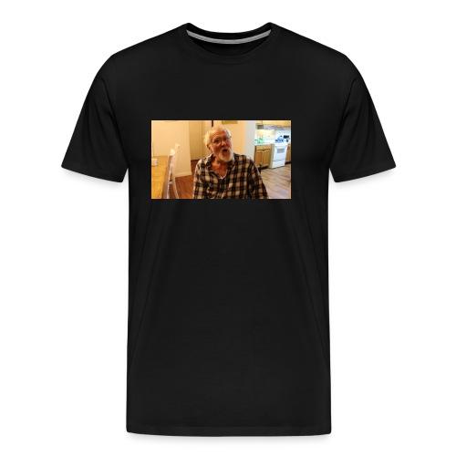 Angry Grandpa - Premium T-skjorte for menn