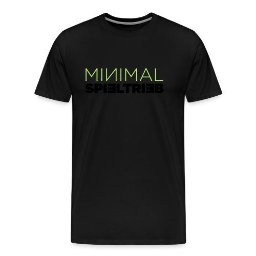 minimal spieltrieb - Männer Premium T-Shirt