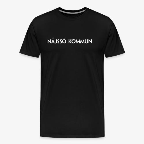 NÄJSSÖ KOMMUN - Premium-T-shirt herr