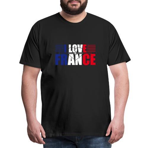 love france - T-shirt Premium Homme