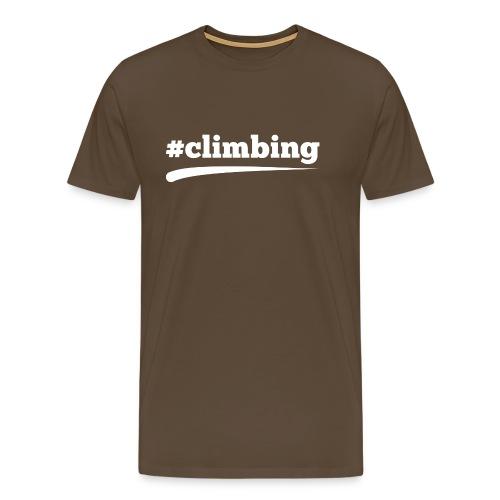 #CLIMBING - Männer Premium T-Shirt