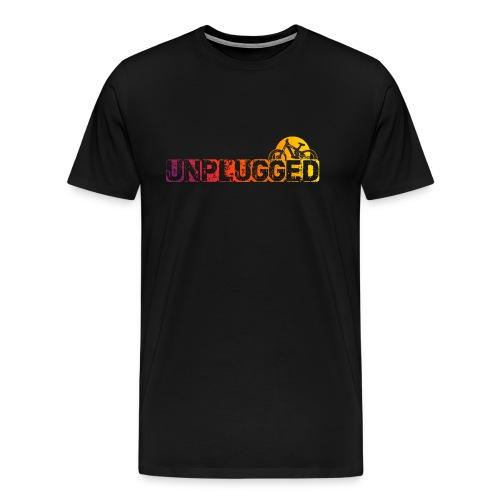 Unplugged - Männer Premium T-Shirt