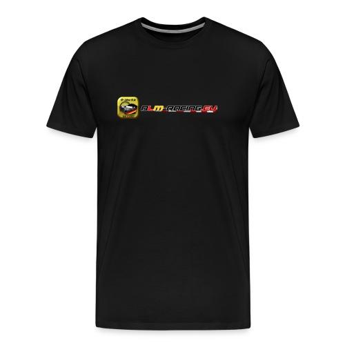 DLM-Racing-eu Logo+URL - Männer Premium T-Shirt
