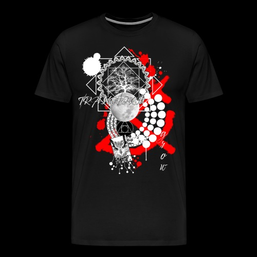 Transfrom and Grow Trash Polka Owl Tree White - Men's Premium T-Shirt