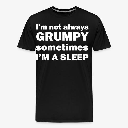 Funny I'm not Always Grumpy, Sometimes I'm A Sleep - Men's Premium T-Shirt