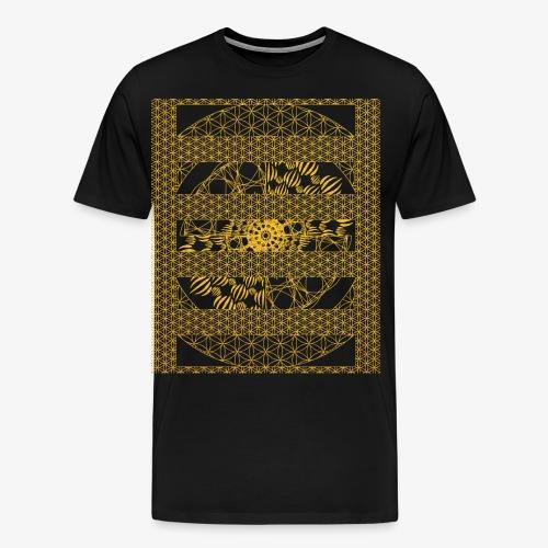 Geometry, Flower of Life and Intricate Geometry - Men's Premium T-Shirt