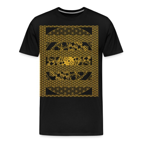 Geometry, Flower of Life and Intricate Geometry - Men's Premium T-Shirt