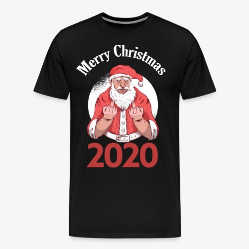 2020 Christmas The Only Design Without Quarantine - Men's Premium T-Shirt