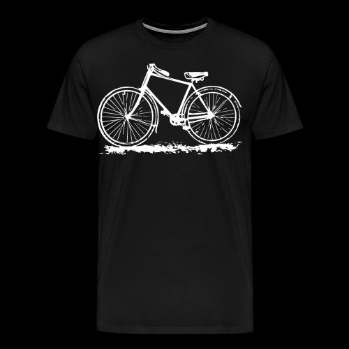 Retro Bike Lovers Vintage Bicycle Old School - Men's Premium T-Shirt