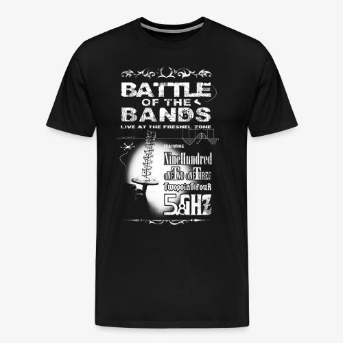 Battle of the Bands Blanco - Men's Premium T-Shirt