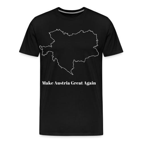 Make Austria great again white - Männer Premium T-Shirt