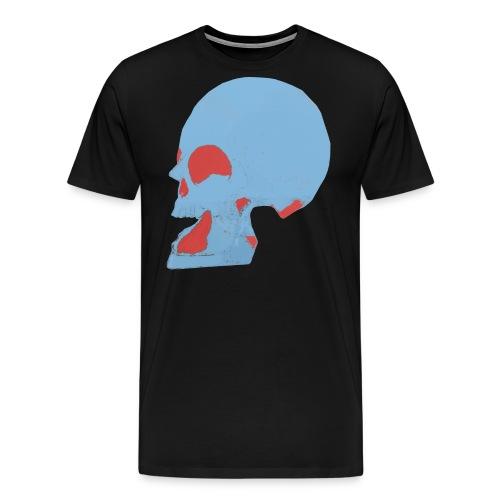 Crâne couleur.gif - T-shirt Premium Homme