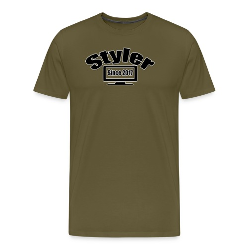 Styler Designer Kleding - Mannen Premium T-shirt