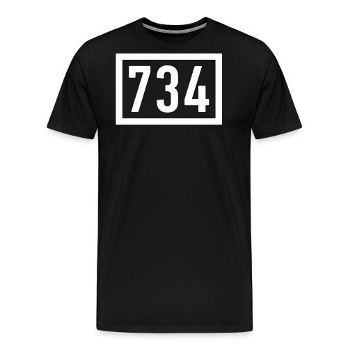 734 Logo BIG - Männer Premium T-Shirt