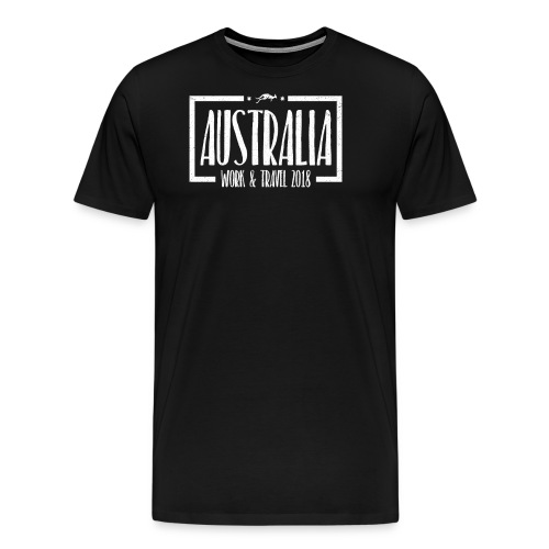 Australien Work Travel T-Shirt - Männer Premium T-Shirt