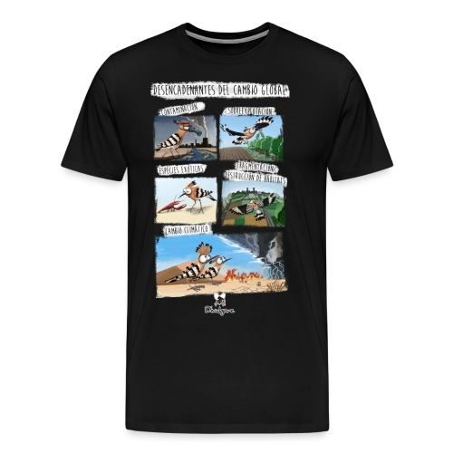 Desencadenantes del Cambio Global. - Camiseta premium hombre