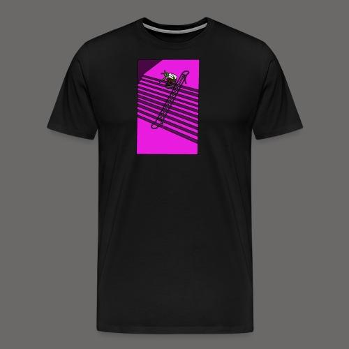 pink gravel - Men's Premium T-Shirt