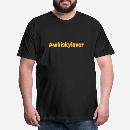 #whiskylover   Whisky Lover - Männer Premium T-Shirt