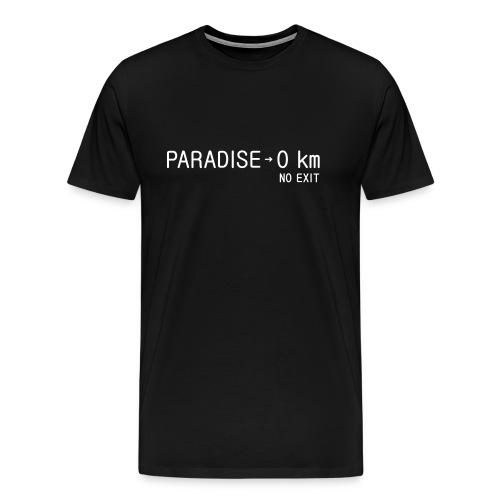 paradise0km - Männer Premium T-Shirt