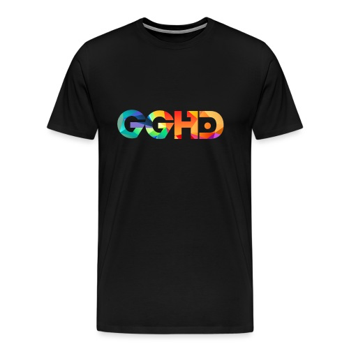 GGHD RAINBOW PNG - Men's Premium T-Shirt