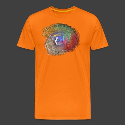 Brainwashing 3D - Men's Premium T-Shirt