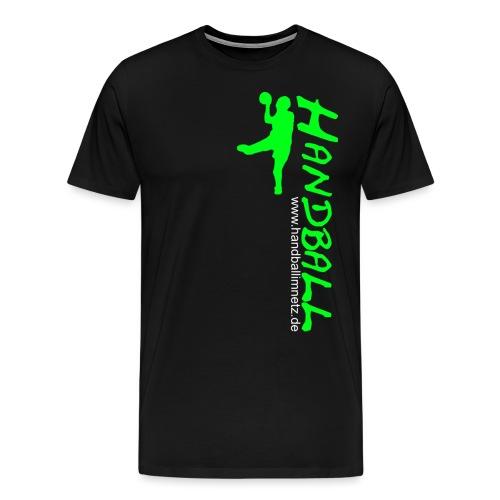 HIN Werfer Grün Weiss - Männer Premium T-Shirt