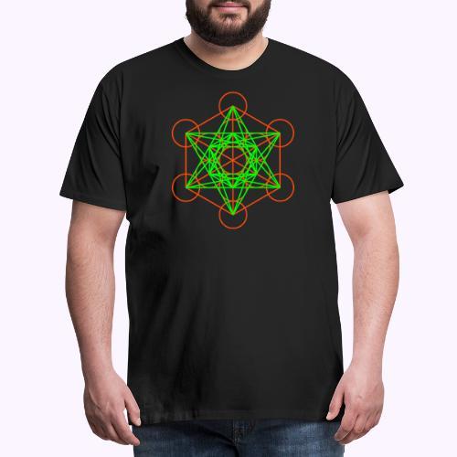 Metatrons Cube - Camiseta premium hombre