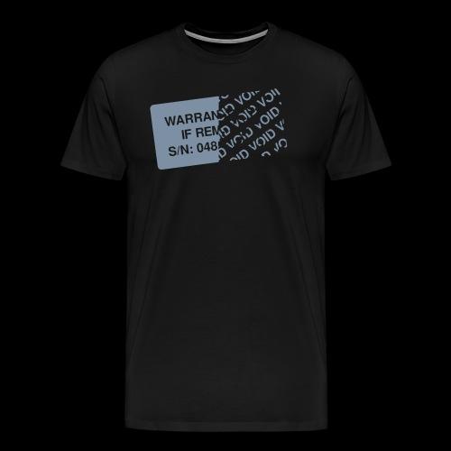 Warranty Void - Men's Premium T-Shirt