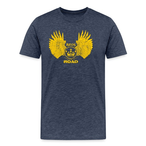 WINGS King of the road light - Mannen Premium T-shirt