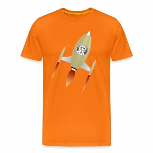 Spaceship - T-shirt Premium Homme