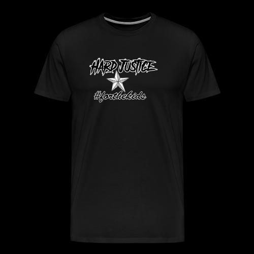 Hard Justice #ftk Black - Men's Premium T-Shirt
