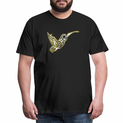 Colibri tête de mort Blanc - T-shirt Premium Homme