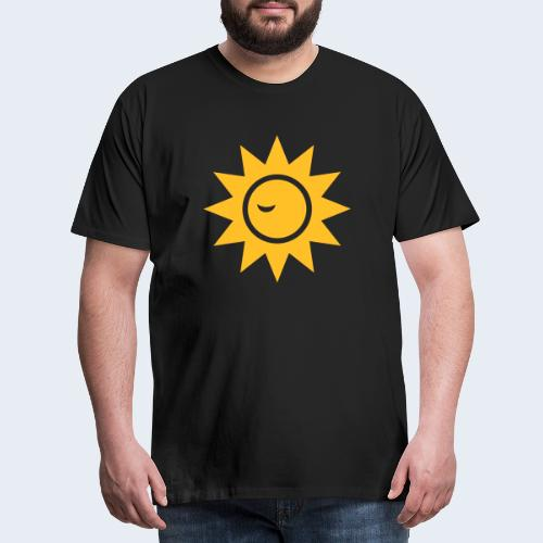Winky Sun - Mannen Premium T-shirt