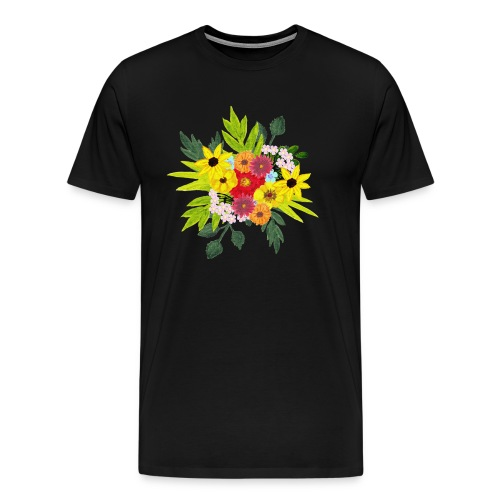 Flower_arragenment - Men's Premium T-Shirt