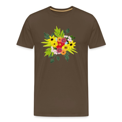 Flower_arragenment - Men's Premium T-Shirt